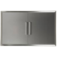"Coyote 36"" Stainless Steel Double Access Doors"