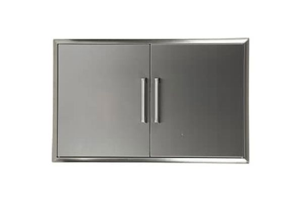 "Large image of Coyote 36"" Stainless Steel Double Access Doors - CDA2436"