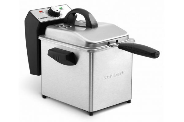 Large image of Cuisinart 2-Quart Stainless Steel Deep Fryer - CDF130