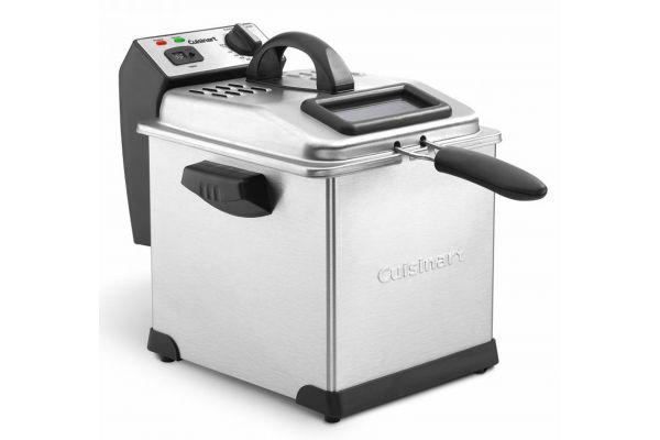 Cuisinart 3.4-Quart Stainless Steel Digital Deep Fryer - CDF-170