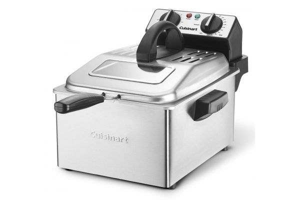 Cuisinart 4-Quart Stainless Steel Deep Fryer - CDF-200