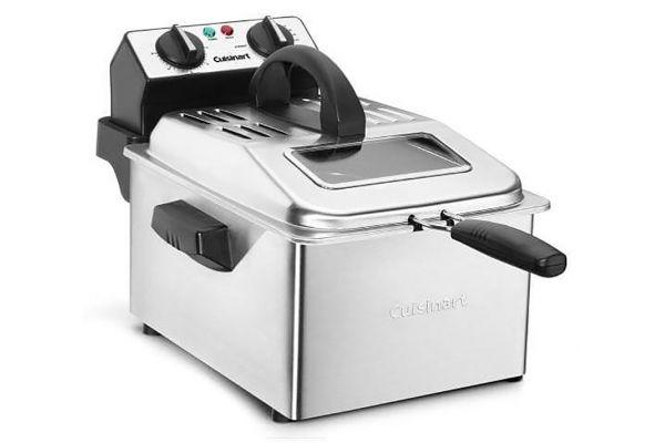 Large image of Cuisinart Stainless Steel 4 Quart Deep Fryer - CDF200P1