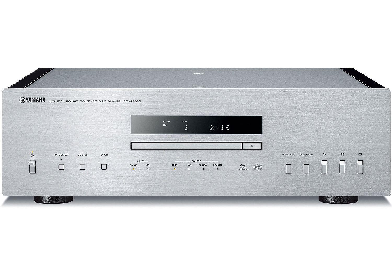 yamaha silver high grade cd player cd s2100sl. Black Bedroom Furniture Sets. Home Design Ideas