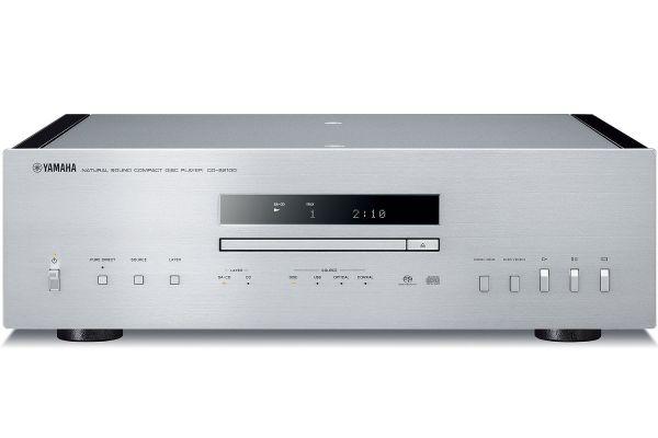 Large image of Yamaha Silver High-Grade CD Player - CD-S2100SL
