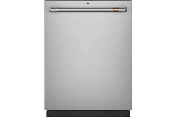"""Large image of Cafe 24"""" Stainless Steel Dishwasher With Hidden Controls - CDT805P2NS1"""