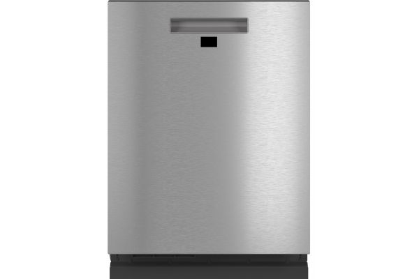 """Large image of Cafe 24"""" Stainless Steel Built-In Dishwasher With Hidden Controls - CDT875M5NS5"""