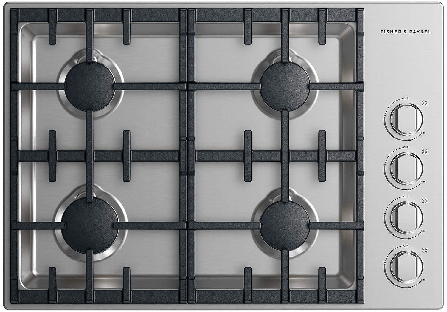 Stainless Gas Cooktop Cdv2 304h N