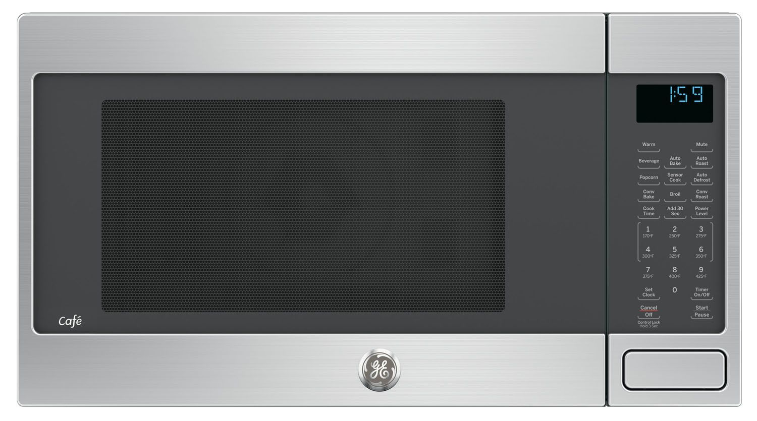 Ge Cafe Ceb1599sjss Built In Microwaves With Trim Kit