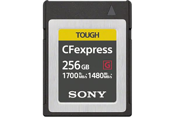 Large image of Sony 256GB CEB-G Series CFexpress Type B Memory Card - CEBG256/J & 13791003