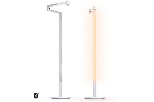 Dyson Lightcycle Morph White And Silver Floor Light - 292217-01