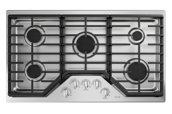 "Cafe 36"" Stainless Steel Gas Cooktop - CGP70362NS1"