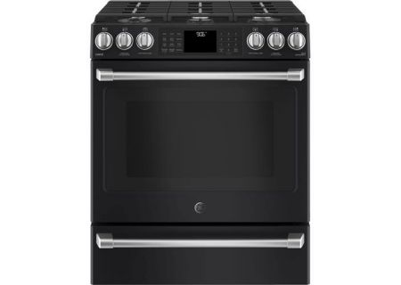 GE Cafe - CGS986EELDS - Slide-In Gas Ranges