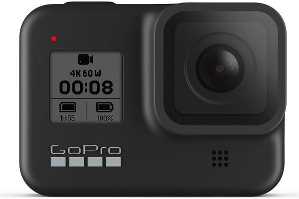 Large image of GoPro HERO8 Black 4K Ultra HD Camera - CHDHX-801-XX