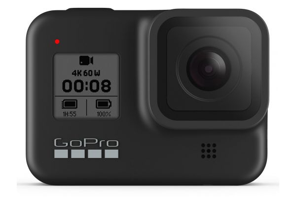 Large image of GoPro HERO8 Black 4K Ultra HD Camera - CHDHX-801