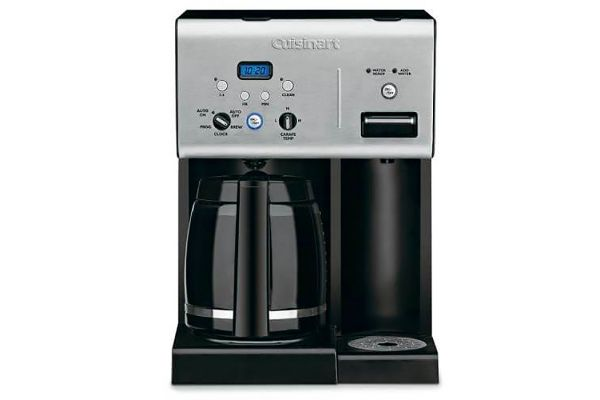 Large image of Cuisinart Coffee Plus Black 12 Cup Programmable Coffeemaker Plus Hot Water System - CHW12P1