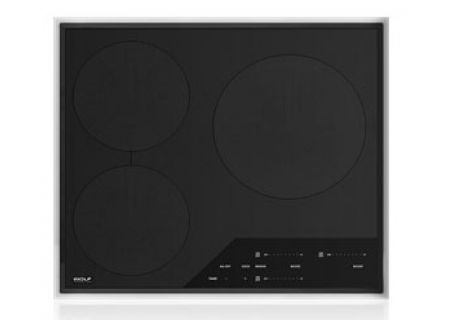 "Wolf 24"" Transitional Framed Induction Cooktop - CI243TFS"