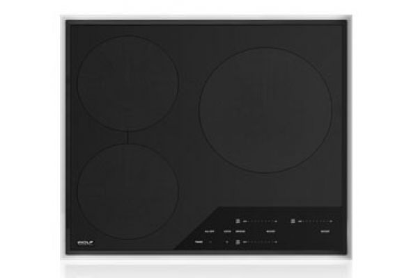 """Wolf 24"""" Transitional Framed Induction Cooktop - CI243TFS"""