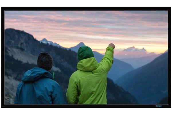 "Large image of Stewart Filmscreen Cima Neve 100"" White Fixed Frame Screen - CIF100HNEVEWX"