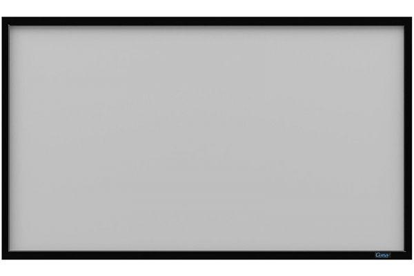 "Large image of Stewart Filmscreen Cima Tiburon 123"" Gray Fixed Frame Screen - CIF123HTBG4WX"