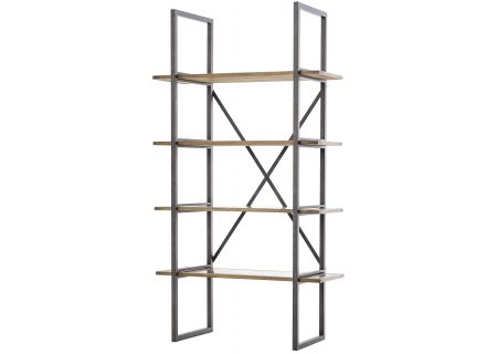 Four Hands Hughes Collection Light Rustic Black Shane Single Bookshelf - CIMP-11Y