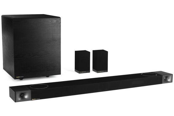 Large image of Klipsch Cinema 1200 Dolby Atmos Sound Bar + Wireless Subwoofer - 1067536