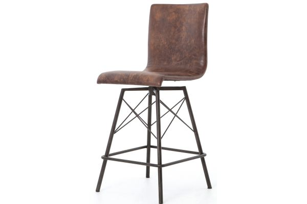 Large image of Four Hands Irondale Collection Havana Diaw Counter Stool - CIRD-V8