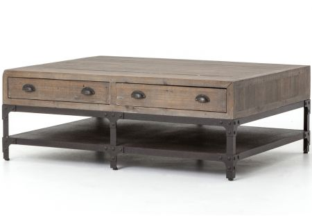 Four Hands Irondale Collection Campbell Small Coffee Table - CIRD-150