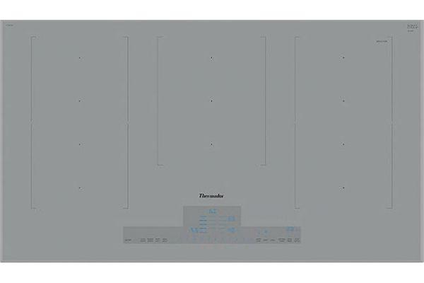 "Large image of Thermador 36"" Masterpiece Series Titanium Gray Liberty Induction Cooktop - CIT367XG"