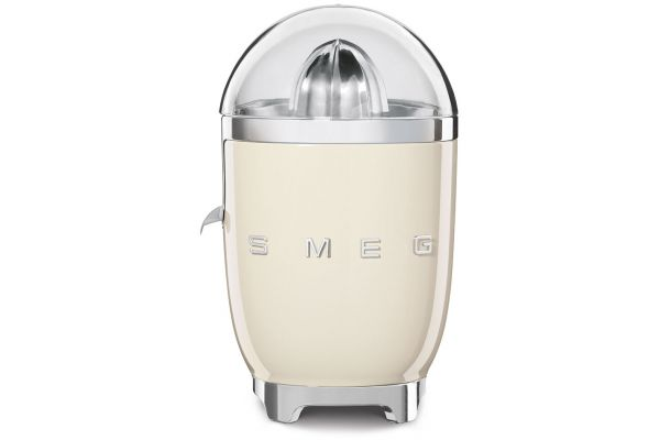 Large image of Smeg 50's Retro Style Cream Slow Juicer - CJF01CRUS