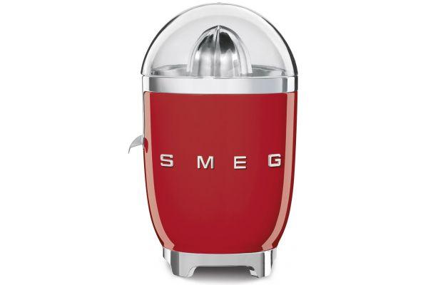 Large image of Smeg 50s Retro Style Red Slow Juicer - CJF01RDUS