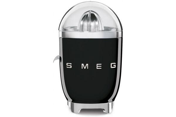Large image of Smeg 50s Retro Style Black Slow Juicer - CJF01BLUS