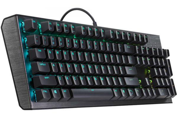Large image of Cooler Master Gaming Keyboard (Red Switch) - CK-550-GKGR1-US