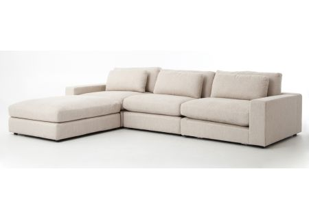 Four Hands Kensington Collection Essence Natural Bloor Sectional - CKEN-D2-377