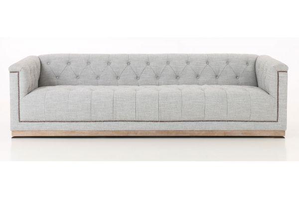 "Large image of Four Hands Kensington Collection Maxx 95"" Manor Grey Sofa - CKEN-K3Z-099"