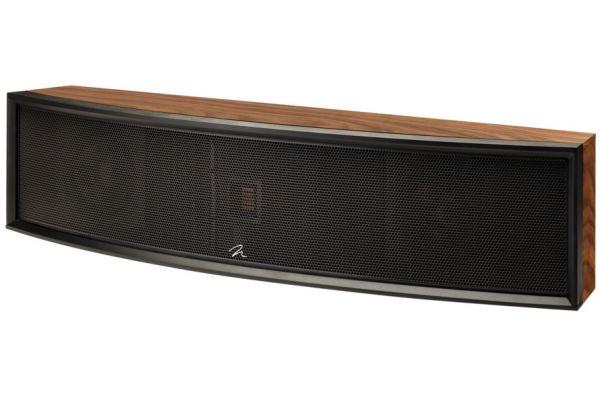 Large image of MartinLogan Focus ESL C18 Walnut Center Channel Speaker - FOCUSC18WAL