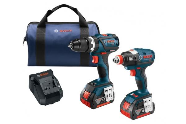 Large image of Bosch Tools 18V 2-Tool Combo Kit - CLPK251-181