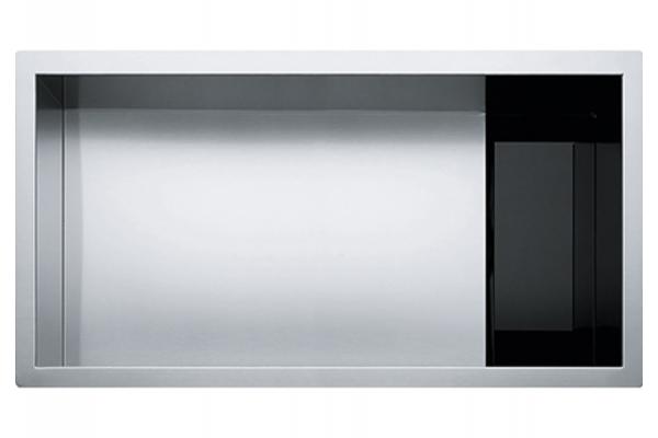 Large image of Franke Crystal Stainless Steel Single Bowl Kitchen Sink - CLV110-31