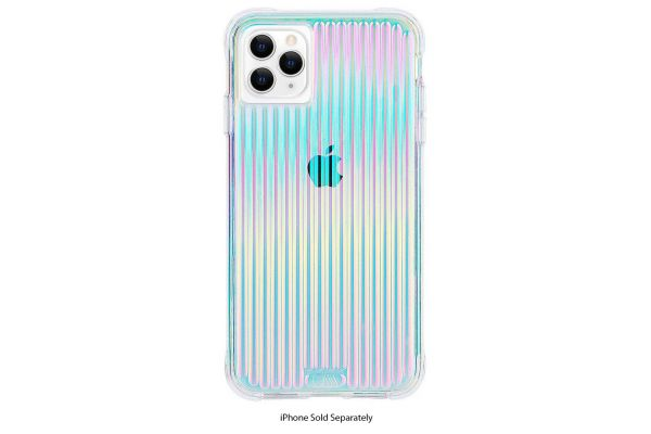 Large image of Case-Mate Iridescent Tough Groove Case For Apple iPhone 11 - CM039362