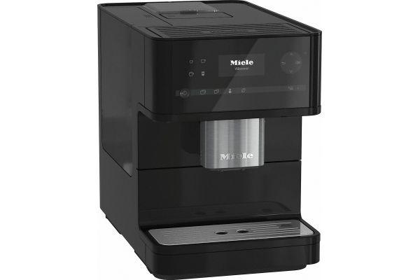 Miele Obsidian Black OneTouch Countertop Coffee Machine - CM6150OB