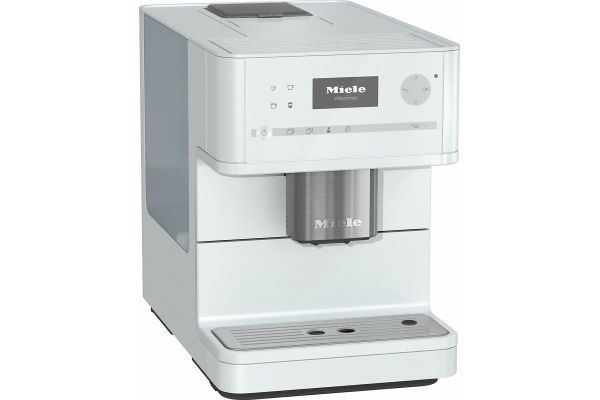 Large image of Miele Lotus White OneTouch Countertop Coffee Machine - 10662810