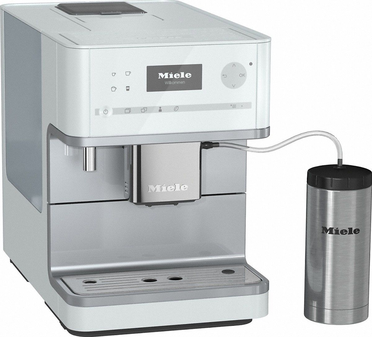 freestanding plumbing sensor miele blanchford cup shop cupsensor plumbed maker coffee machines