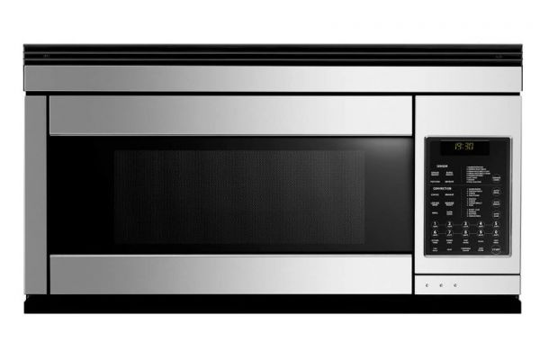 "Large image of Fisher & Paykel 30"" Stainless Steel Over The Range Microwave Oven - CMOH30SS-2Y"