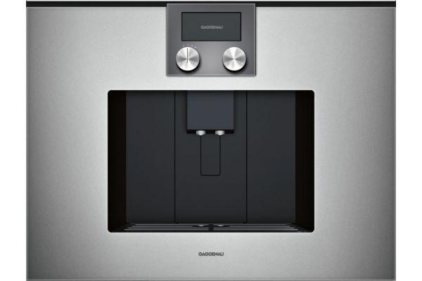 Gaggenau 200 Series Glass Front Metallic Built-In Automatic Espresso Machine - CMP250711