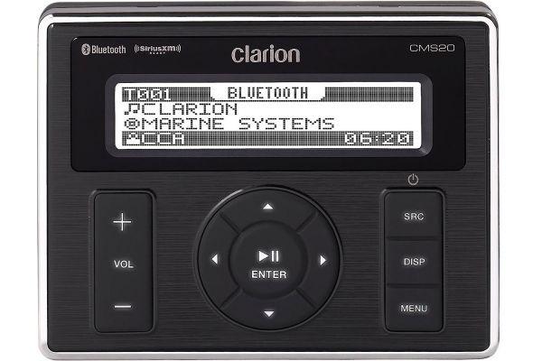 Clarion Marine Black Box Digital Media Receiver With Watertight Commander - 92707