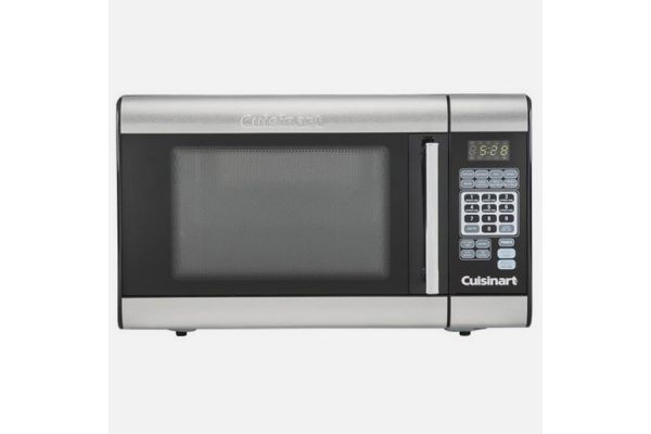 Large image of Cuisinart Stainless Steel Countertop Microwave - CMW100