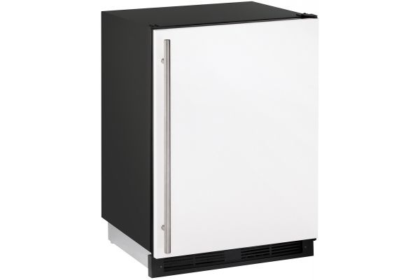 "Large image of U-Line 24"" 1000 Series White Compact Combo Refrigerator - U-CO1224FW-00B"