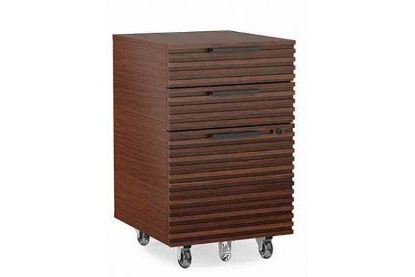 Large image of BDI Corridor 6507 Chocolate Stained Walnut File Cabinet - CORRIDOR6507CWL