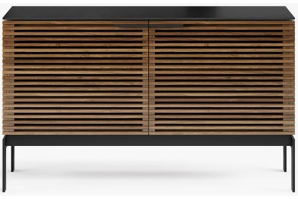 Large image of BDI Corridor 7128 Natural Walnut Storage Cabinet - 7128-WL
