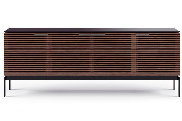 Large image of BDI Corridor SV 7129 Chocolate Stained Walnut Credenza - CORRIDOR-7129-CWL