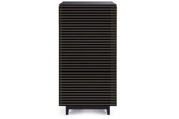BDI Corridor Charcoal Stained Ash Cabinet - CORRIDOR8172CRL